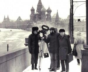 Gerhart Hauptmann - Hauptmanntransport-Dreharbeiten in Moskau image005
